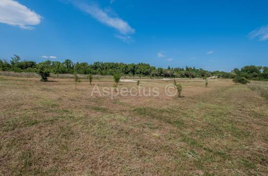 Building land 501m2 in a green protected area only 3 km from the center, Pula
