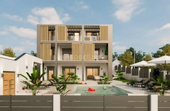 Nova atraktivna hiša v gradnji, Medulin, Vinkuran