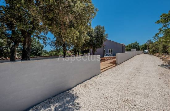 Detached prefabricated house with pool near Pula, Valtura