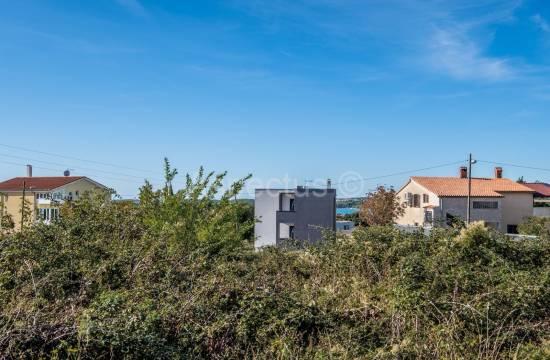 Zazidljivo zemljišče, 876 m2, pogled na morje, Medulin