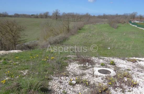 Istria-Zminj,building plot 3287m2 in a commercial zone