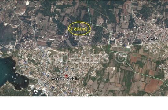 Medulin, kmetijsko zemljišče 2 861m2