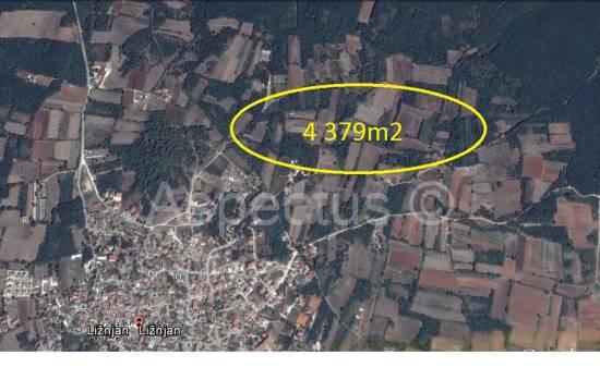 Ližnjan, kmetijska zemljišča 4379m2