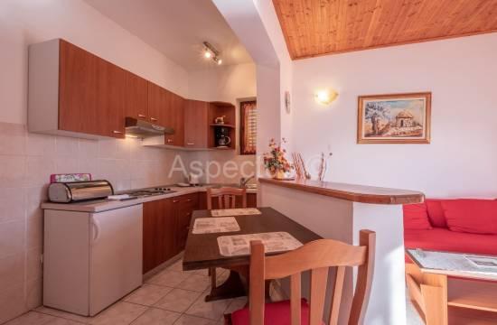 Wohnung 45,70 m2, Hochparterre, möbliert, 1 Schlafzimmer, Medulin
