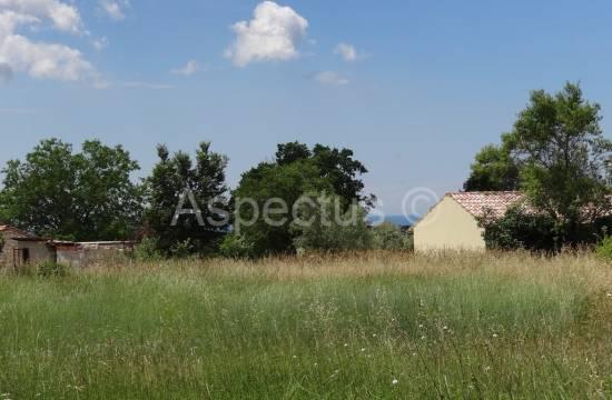 Baugrundstück  2291m2 mit Meerblick, Juršići, Svetvinčenat