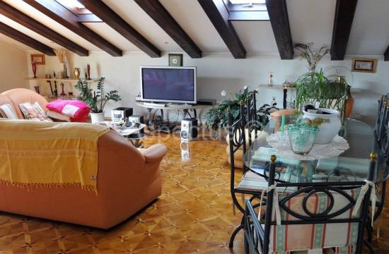 Three-room apartment in the attic of 190,40m2, Umag