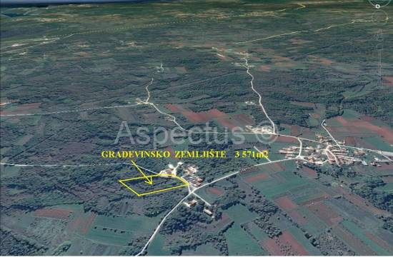 Građevinsko zemljište 3 571m2, Barban