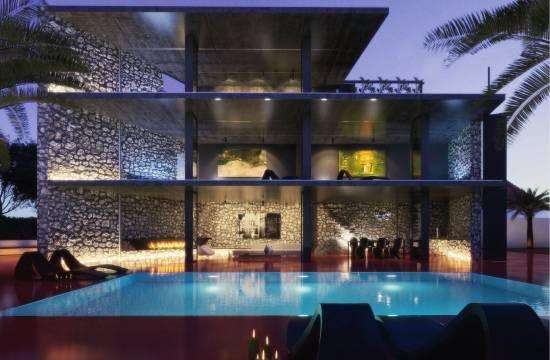 Ländliche einheimische Steinvilla mit Pool und Garten!